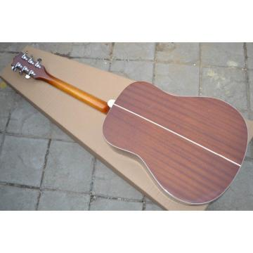 Custom Shop Hummingbird Dove Honey Color Acoustic Guitar