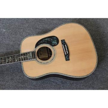 Custom Shop Dreadnought 1833 CMF D45 Matrin Natural Acoustic Guitar Sitka Solid Spruce Top With Ox Bone Nut & Saddler