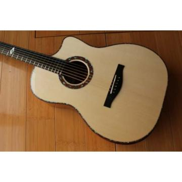 Custom Shop Fan Fretted Acoustic Guitar AG300