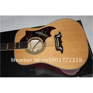Custom Shop Dove SJ200 Natural Acoustic Guitar