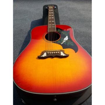 Custom Shop Dove Pro Sunburst Acoustic Guitar