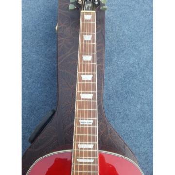 Custom Red Cherry Sunburst J160E Acoustic Guitar