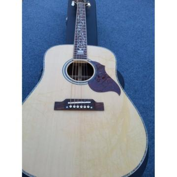 Custom J45 J-45 Natural Finish Acoustic Guitar Tree of Life Inlay