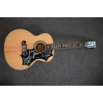 Custom J200 Elvis Presley Inlayed Acoustic Guitar