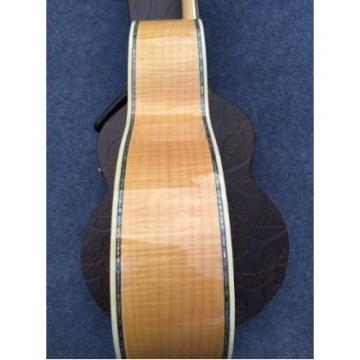 Custom J200 6 Strings Natural Acoustic Guitar Real Abalone