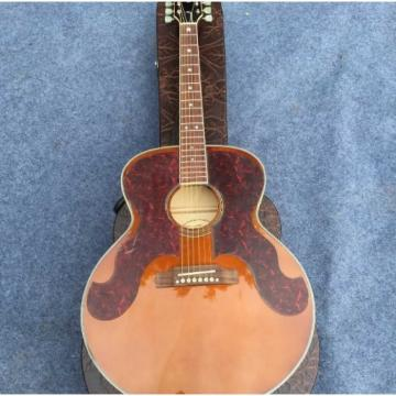 Custom J180 6 Strings Amber Star Inlays Acoustic Guitar