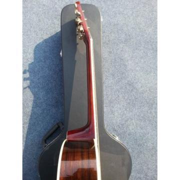 Custom  Shop Cutaway Lakewood Inlayed Signature Natural Acoustic Guitar
