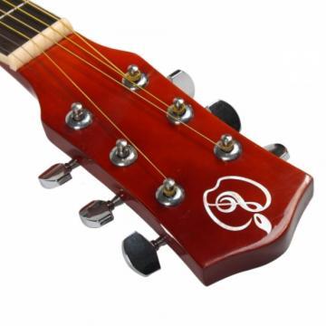 "Beginner 41"" Folk Acoustic Wooden Guitar Primary Color"