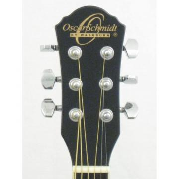 Brand New Washburn OGHS/B Black Finish Half Size Smaller Acoustic Guitar