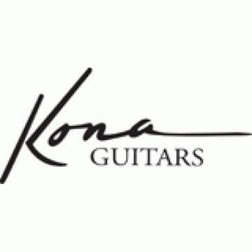 Black Tolex Covered Dreadnought Acoustic Guitar Kona 12WC100 Hardshell Case