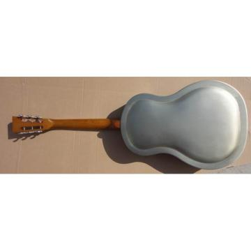 Acoustic Single Cone duolian Steel Body Resonator Guitar