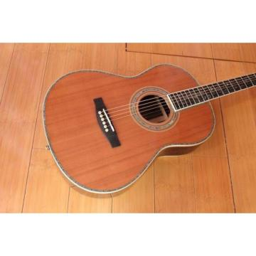 Acoustic Guitar With 12 Fret Cut Away