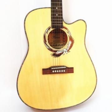 """41"""" Cutaway Philippines Wood Folk Acoustic Guitar"""