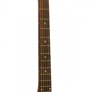 2013 Kona Sunburst Acoustic Dreadnought Cutaway Guitar