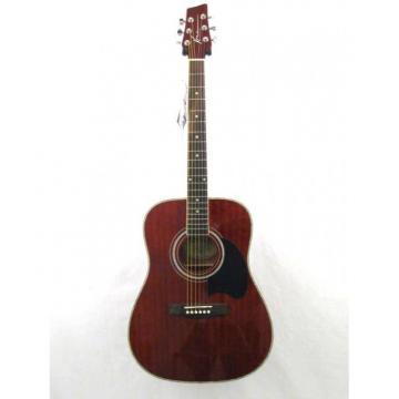 2013 Kona K216TRE Transparent Red Acoustic Electric Dreadnought Guitar