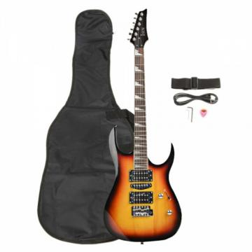 170 HSH Acoustic Pick-up Professional Electric Guitar Sunset with Accessories