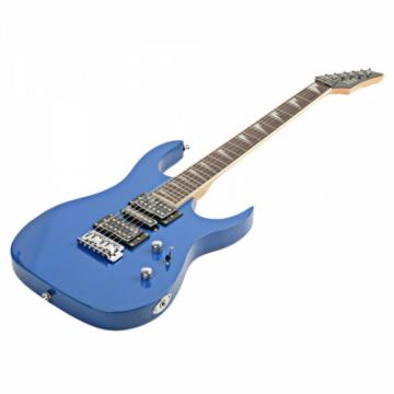 170 HSH Acoustic Pick-up Professional Electric Guitar Blue with Accessories
