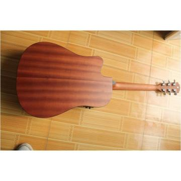 "Custom Cutaway 41"" Acoustic Guitar Solid Spruce Top With EQ"