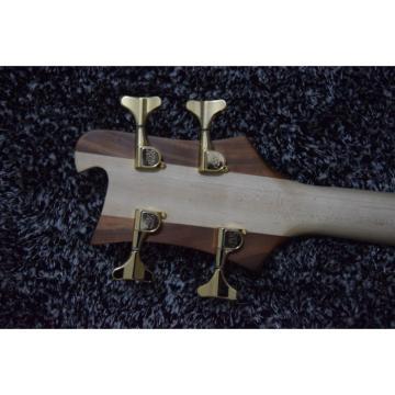 Walnut Body Lemmy Kilmister  Rickenbacker 4003 Matte Carved Natural Bass