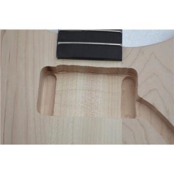 Unfinished 4 Strings Bass Through Canada Maple Neck Alder Body Ebony Fretboard