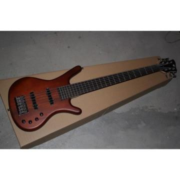 Custom Warwick Corvette 6 Strings Natural Electric Bass