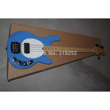Custom StingRay MusicMan Blue 4 Strings Bass