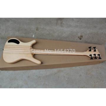 Custom Shop Warwick Corvette 5 Strings Brown Electric Bass