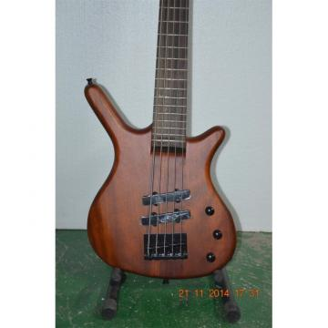Custom Shop Warwick 5 Strings Walnut Brown Bass