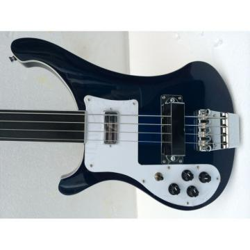 Custom Shop Rickenbacker Left Hand Blue 4003 Bass Fretless