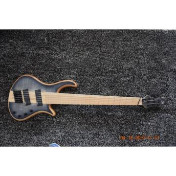 Custom Shop Setius 6 String Bass Gray Burst