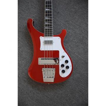 Custom Shop Red Finish Rickenbacker 4001 Bass