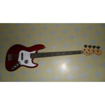 Custom Shop Red Fender Jazz Bass
