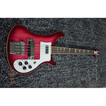 Custom Shop Purple Rickenbacker 4003 Electric Bass