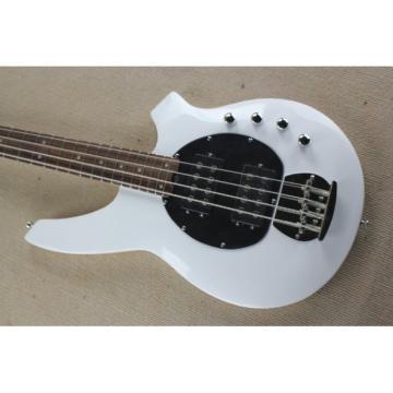 Custom Shop Passive Pickups Bongo Music Man White 4 Strings Bass