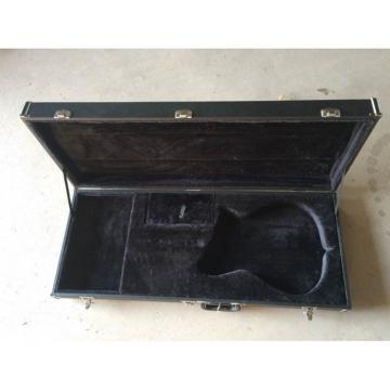 Custom Shop John Lennon Inspired 325 Black Electric Guitar Silver Pickguard
