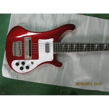 Custom Shop Red Wine 4003 5 String Bass