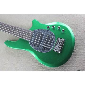 Custom Shop Passive Pickups Bongo Music Man Green 6 Strings Bass