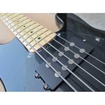Custom Shop MusicMan Black 5 Strings Bass