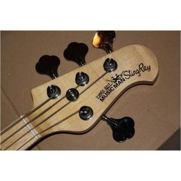 Custom Shop Music Man Tiger Maple Top 4 String StingRay Bass