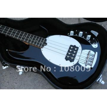 Custom Shop Music Man Jet Black Electric Bass