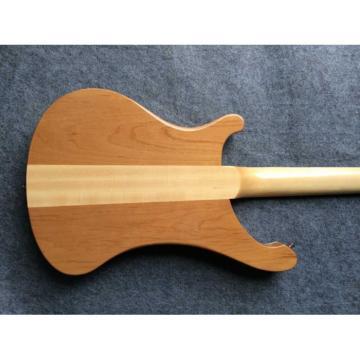 Custom Made Mahogany Wood Body Natural 4003 Bass