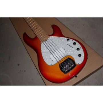 Custom Shop Music Man S.U.B. Ray5 Electric Bass Stingray Sunburst