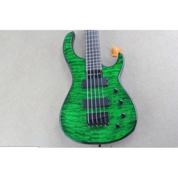 Custom Shop Modulus Quantum 5 Quilted Maple Top 5 String Bass