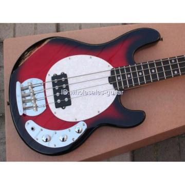 Custom Shop Music Man Red Electric Bass