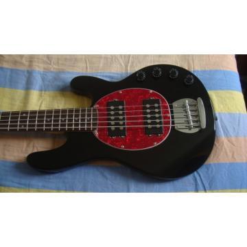Custom Shop Music Man Red Black Electric Bass