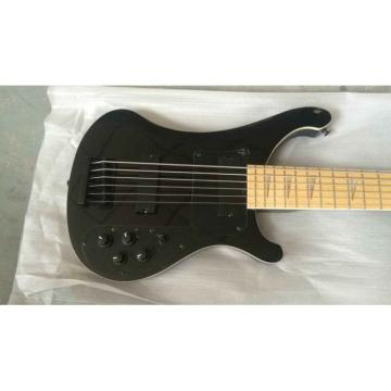 Custom Shop Jetglo 4003 Black Maple Fretboard Bass