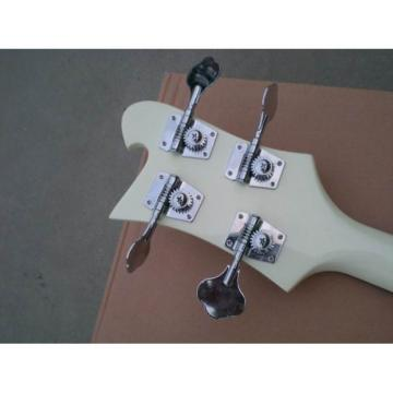 Custom Shop Jetglo 4003 Arctic White Bass
