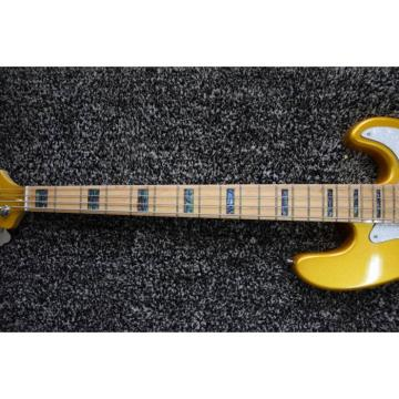 Custom Shop Gold Precision 4 String Jazz Bass