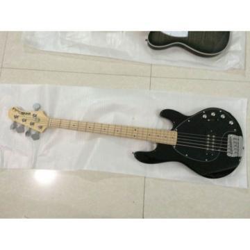 Custom Shop Ernie Ball Black Music Man Passive Single Pickup Bass