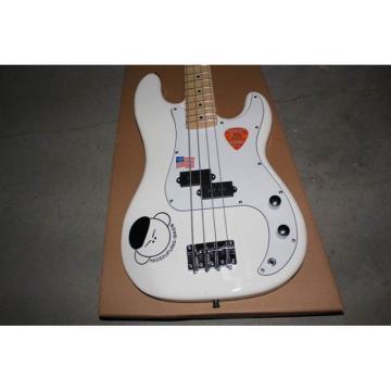 Custom Shop Fender White Precision Bass